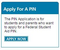 Apply for a PIN at Pin.ed.gov
