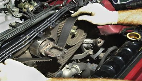 Ensure the timing belt is in good condition