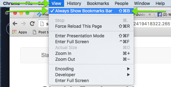 Install the Bookmarklet