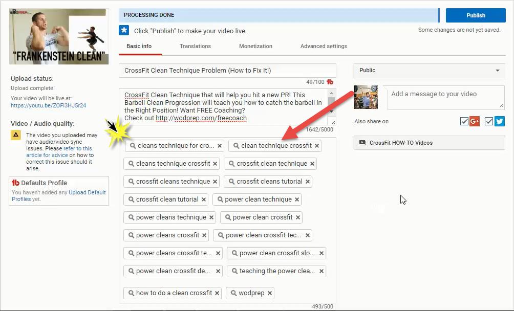 SOP: YouTube Video Upload | Process Street