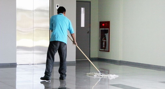 Clean hard floors