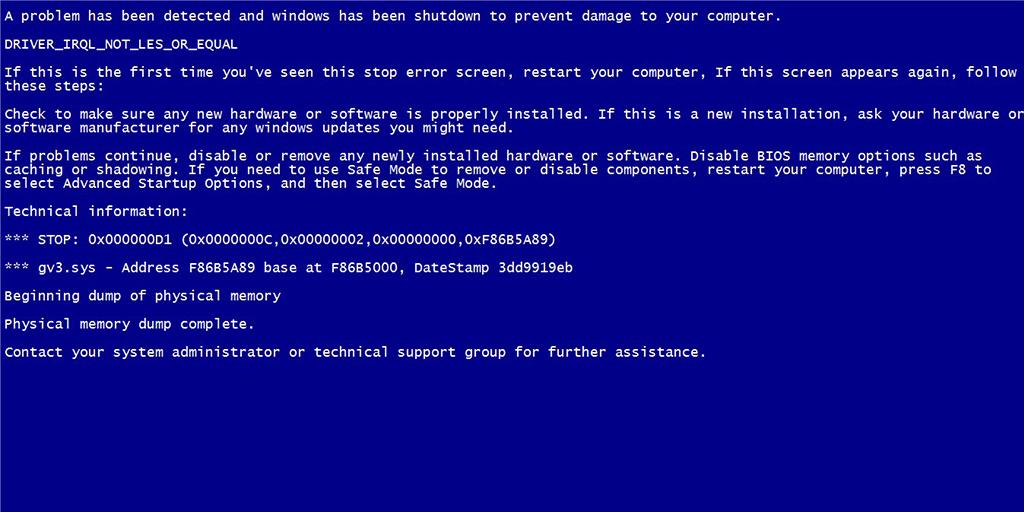 Scan for viruses