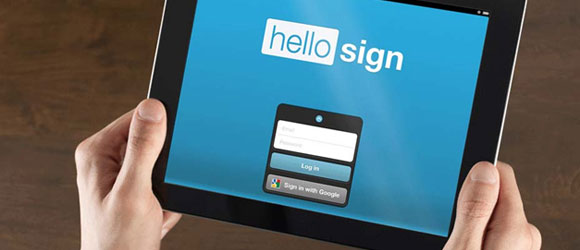 Send contract for Signing via Hellosign