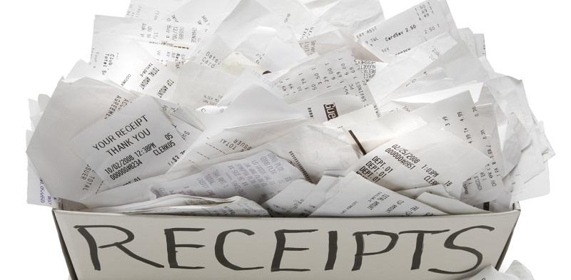 Document expenses