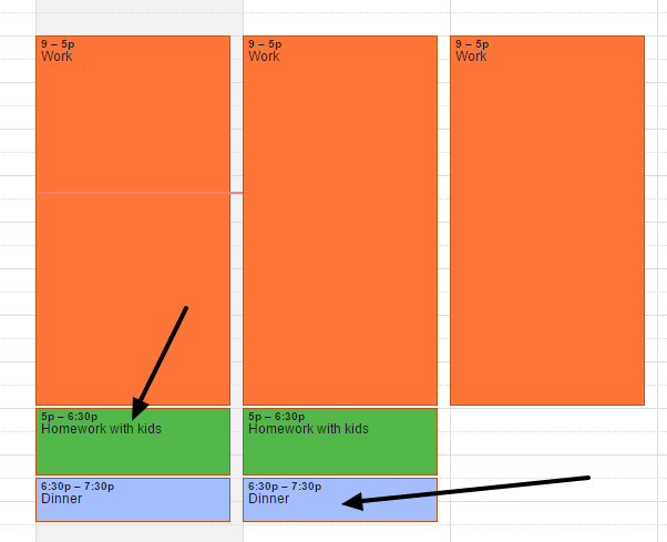 You can change the color of events to make it easier to view and organize your calendars.