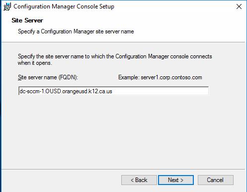 SCCM Admin Console Install | Process Street