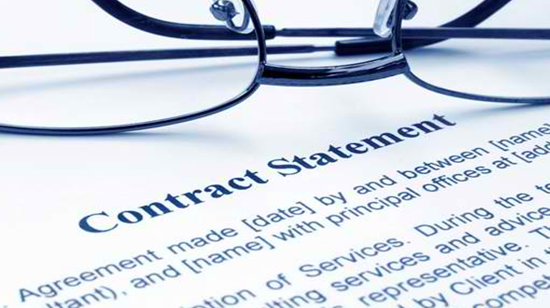 Service Providers/Professional Services Contracts