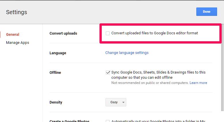 Bonus! Automatically create Google Docs, Slides, and more