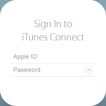 Sign in to iTunes Connect