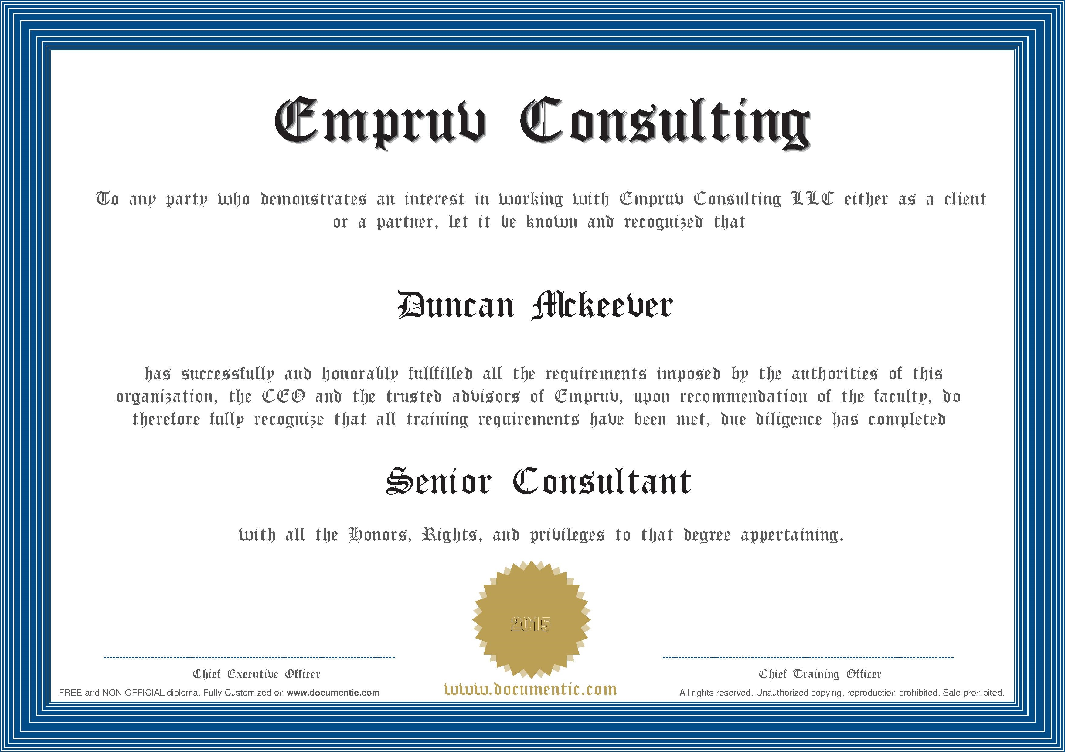 Empruv Consultant Certification Program Process Street