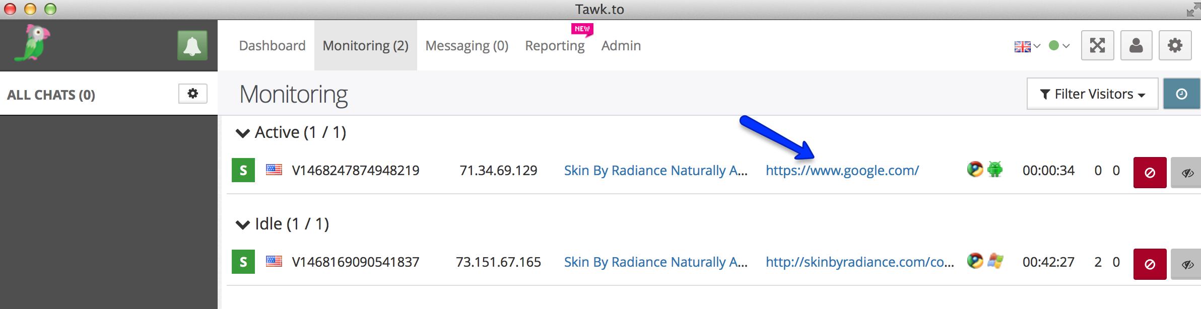Tawk.To Analytics