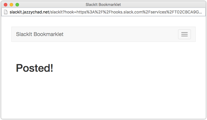 Use the Bookmarklet