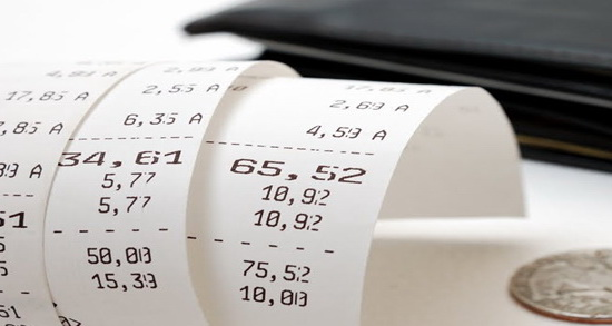 Review gross receipts from sales or services