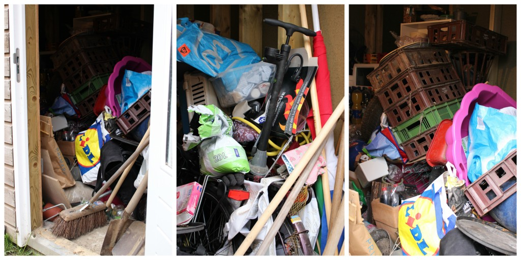 Tidy up clutter
