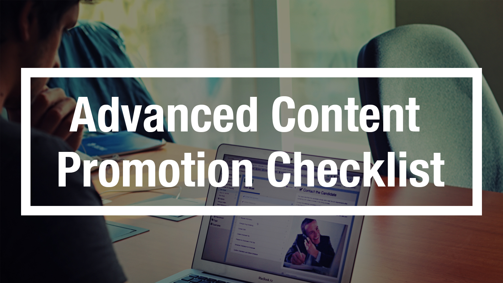 Content Promotion Checklist | Process Street