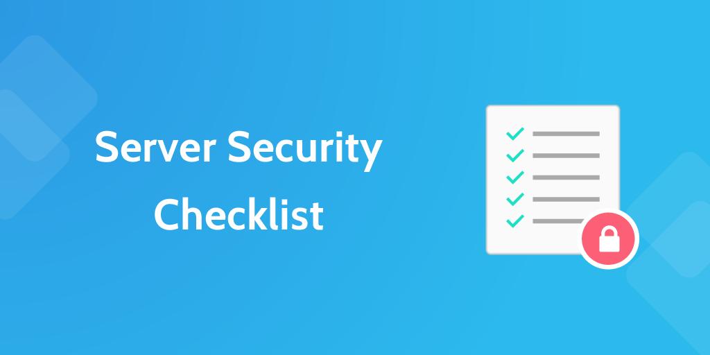 Server Security Checklist | Process Street