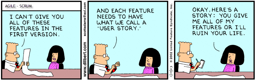 Agile concepts: user stories manifesto.