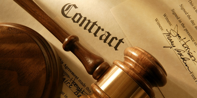 Ensures full compliance of contracts with law